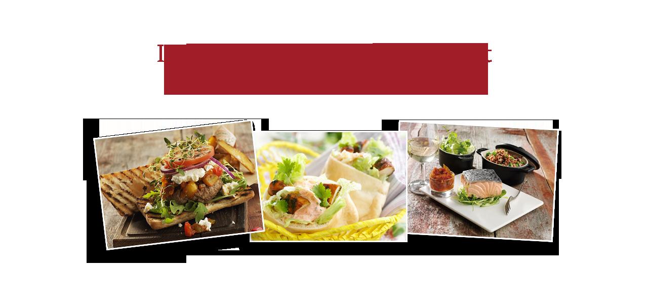 Inspireras till smakfulla recept till Roodebergs olika viner